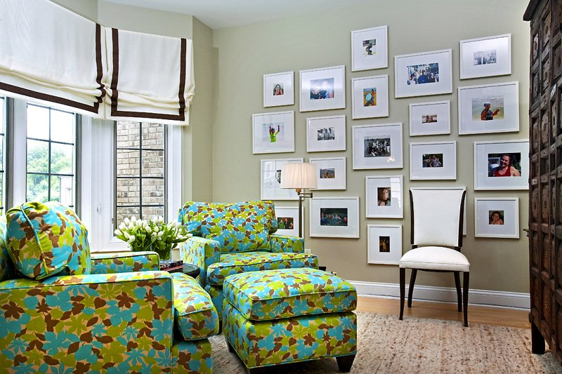 Ideas for decorating walls with pictures