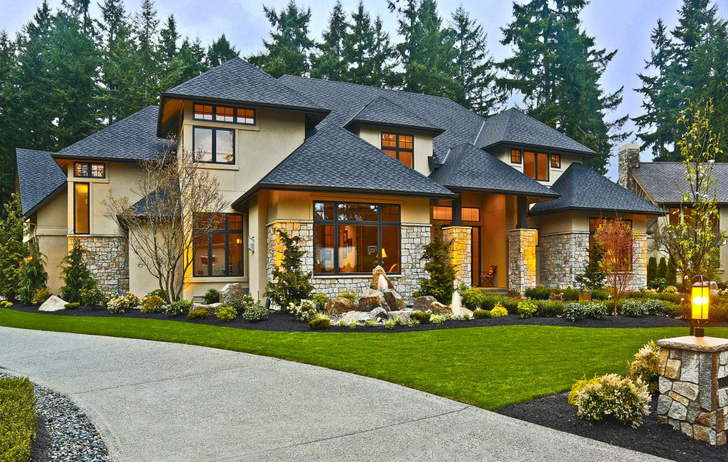 Contemporary Country Home In Bellevue | iDesignArch ...