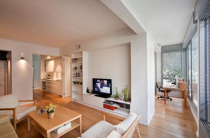 Small apartment design in tel aviv with great floorplan idesignarch