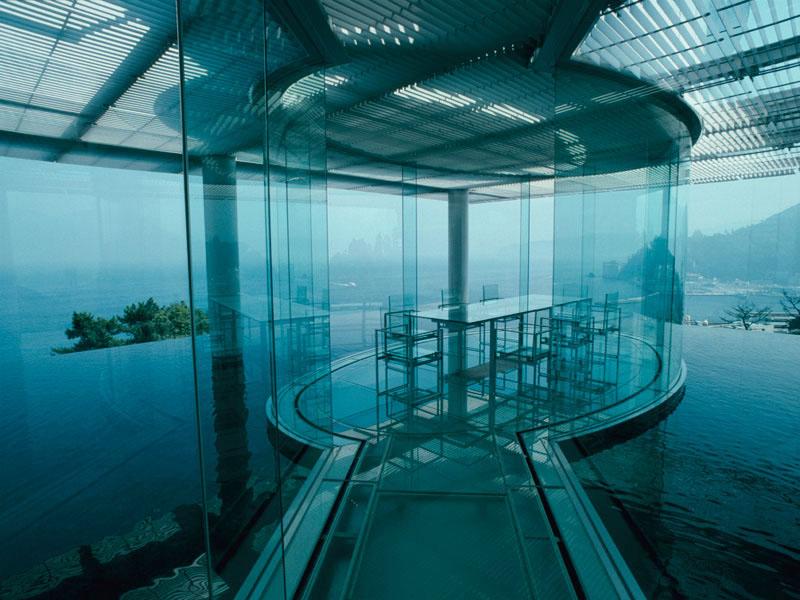 Water glass house by kengo kuma idesignarch interior design