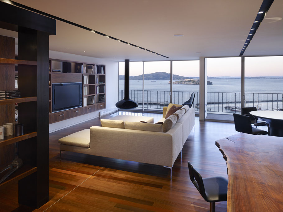 luxury penthouse apartment in san francisco idesignarch interior