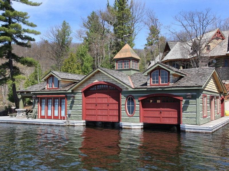 Muskoka Lakeside Country Estate With Boathouse   iDesignArch