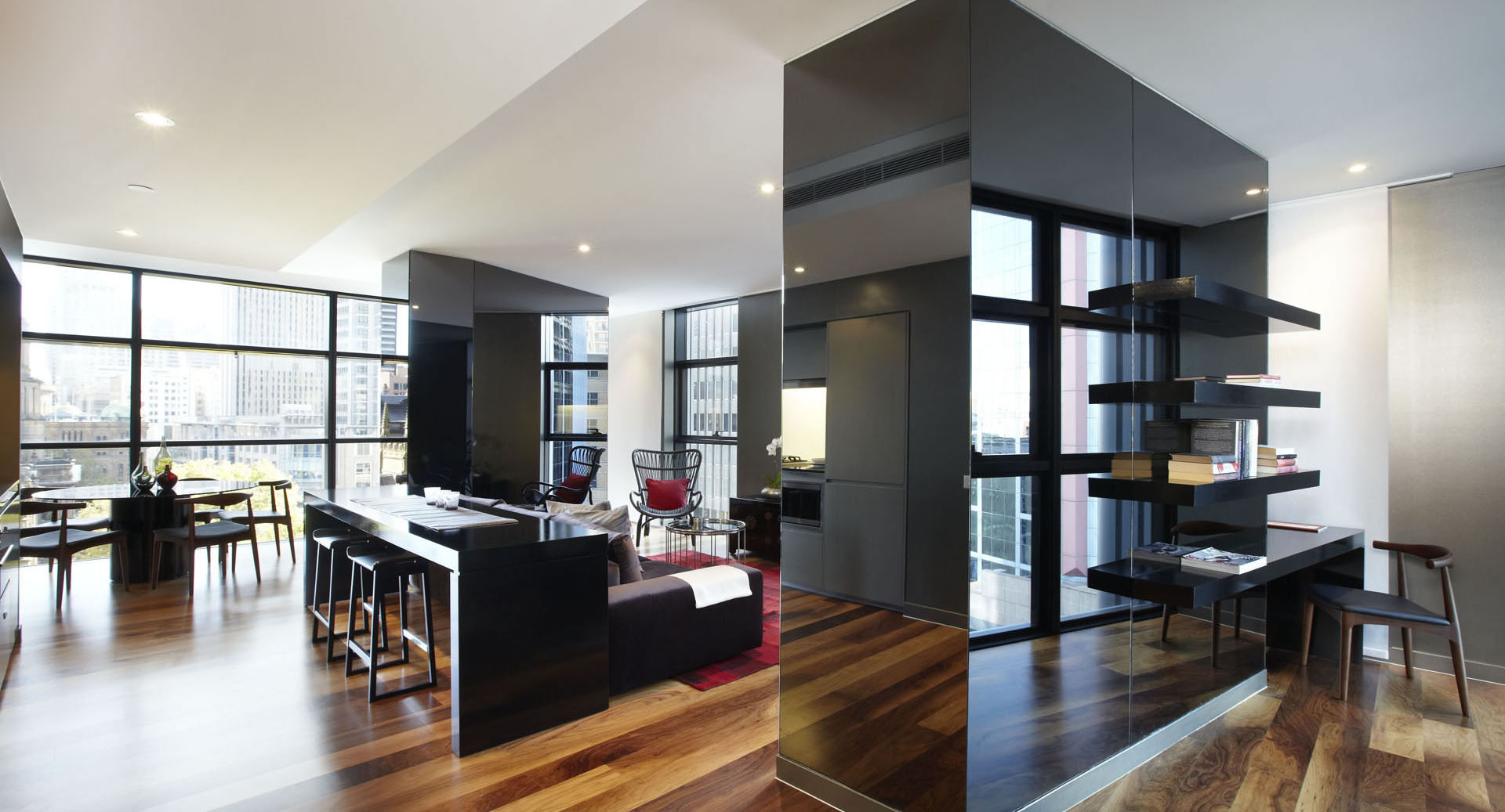 Contemporary apartment designs in sydney idesignarch for Studio room design