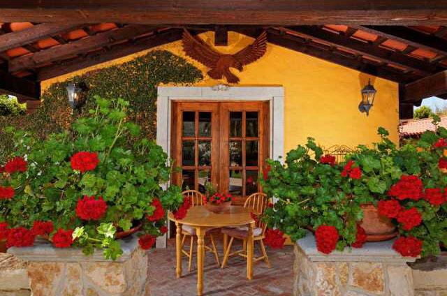 Spanish Hacienda Style Homes