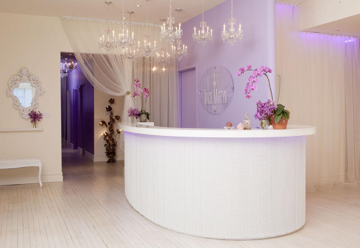 Tracie Martyn Salon Interior Design | iDesignArch | Interior Design ...