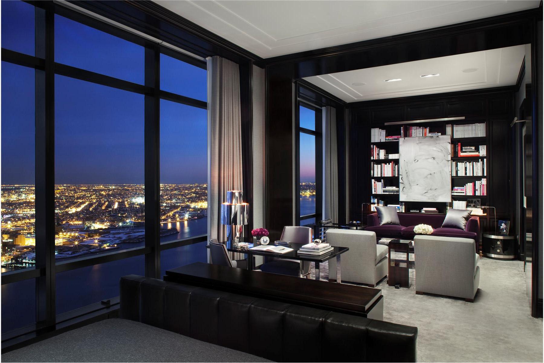 Trump World Tower Modern Penthouse  iDesignArch  Interior Design ...